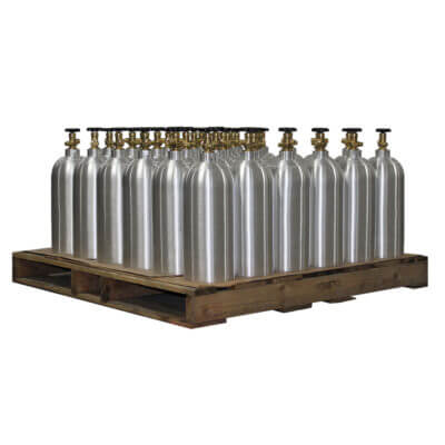 Beverage Elements 10 lb CO2 Aluminum CO2 Cylinders Pallet