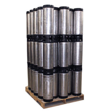 Beverage Elements Recon Keg Pallet Side View Quantity 75
