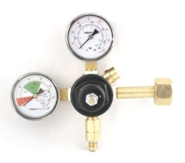 Beverage Elements Dual Gauge CO2 Primary Regulator