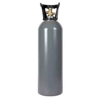 Reconditioned 20 lb. Aluminum CO2 Cylinder