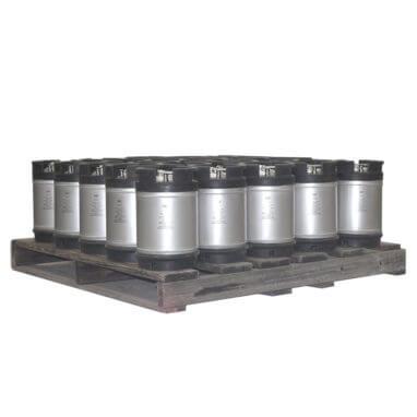 2-5 Gallon Dual Handle Ball Lock Keg Pallet AMCYL
