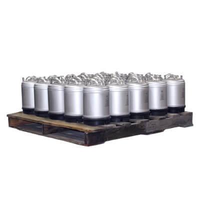 2-5 Gallon Single Handle Ball Lock Keg Pallet AMCYL