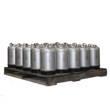3 Gallon Single Handle Ball Lock Keg Pallet AMCYL