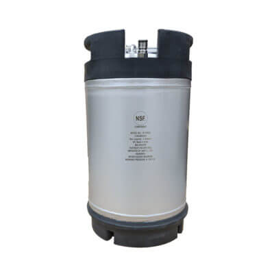 3 Gallon Dual Rubber Handle AMCYL Keg