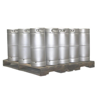 Quarter Barrel Sankey Keg Pallet