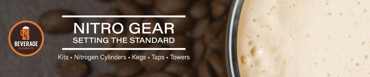 Nitro Cold Brew Coffee Gear - Setting the Standard