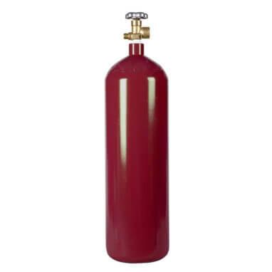 Reconditioned 60 cu ft Steel Nitrogen Cylinder