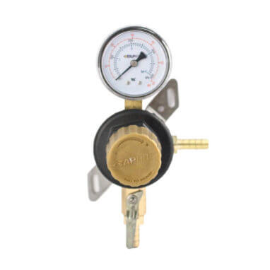 Single Gauge Secondary Beer CO2 Regulator