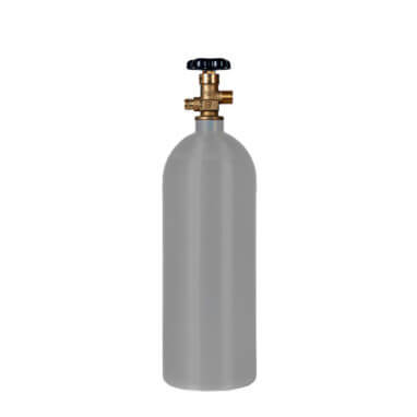 Reconditioned 5 lb Aluminum CO2 Cylinder