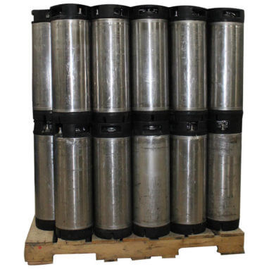 Pallet of Reconditioned Ball Lock Kegs