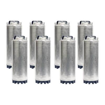 8-Pack Class 2 Ball Lock Kegs