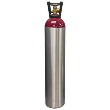 Reconditioned 90 cu ft Aluminum Nitrogen Cylinder