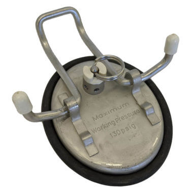 Dairy Approved Ball Lock Keg Lid Open - AEB